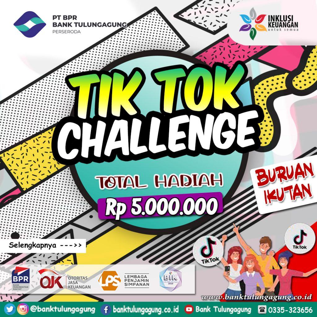 awal Tiktok Challenge Bank Tulungagung