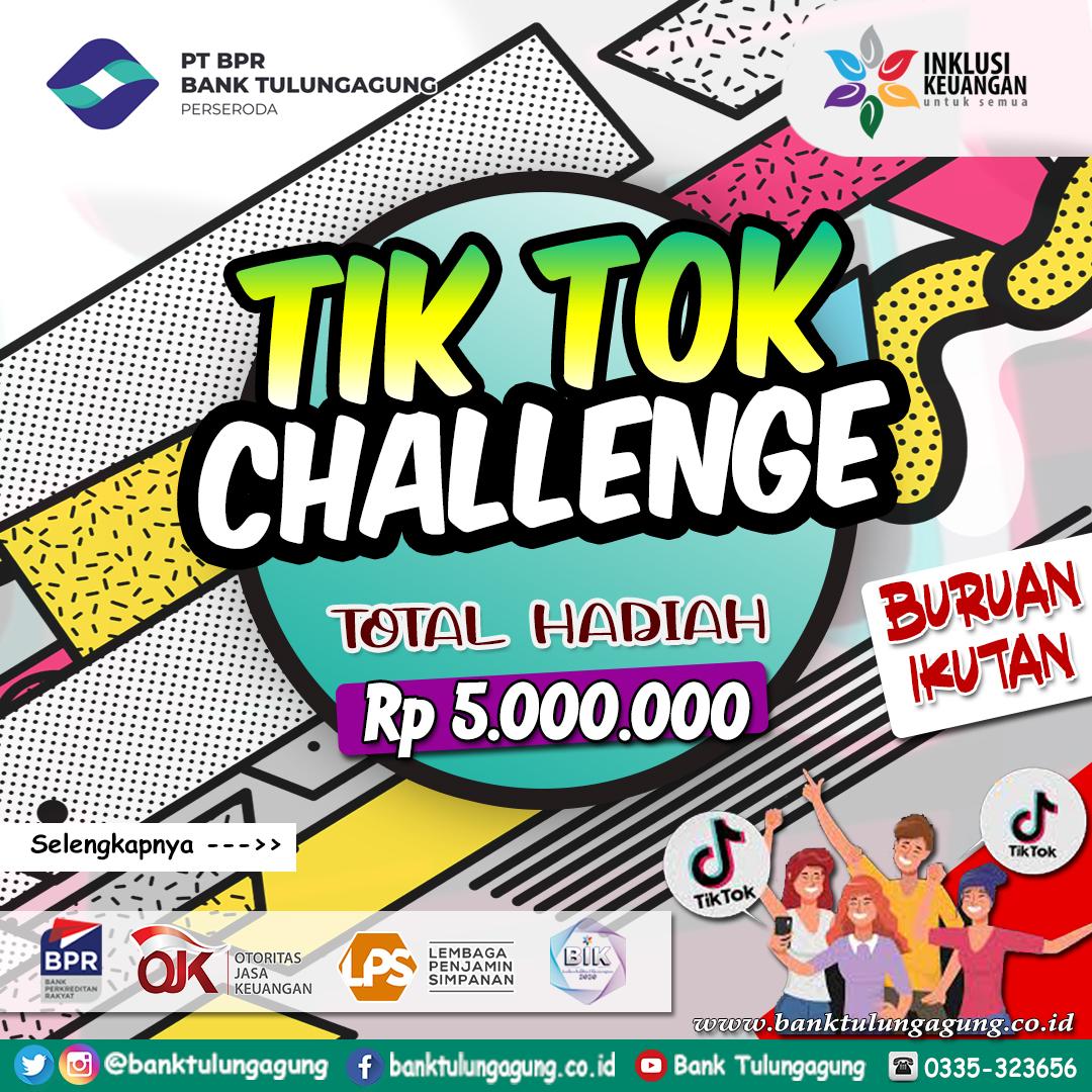 Tiktok Challenge Bank Tulungagung